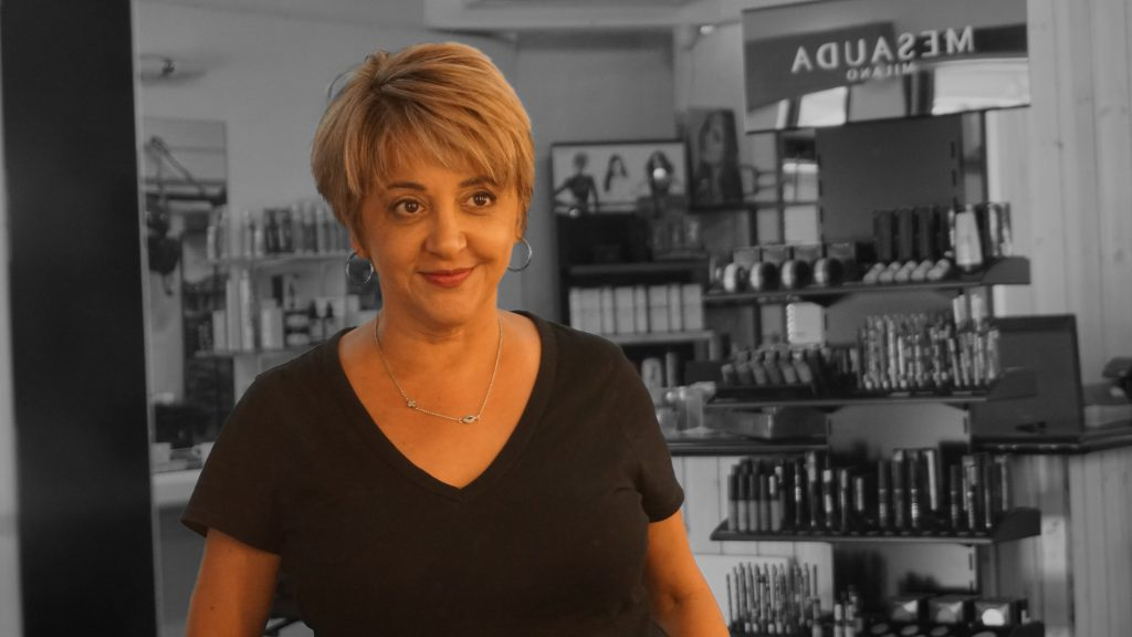Photo of Denise, founder of Edens Hair and Beauty